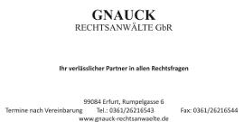 Gnauck Rechtsanwälte