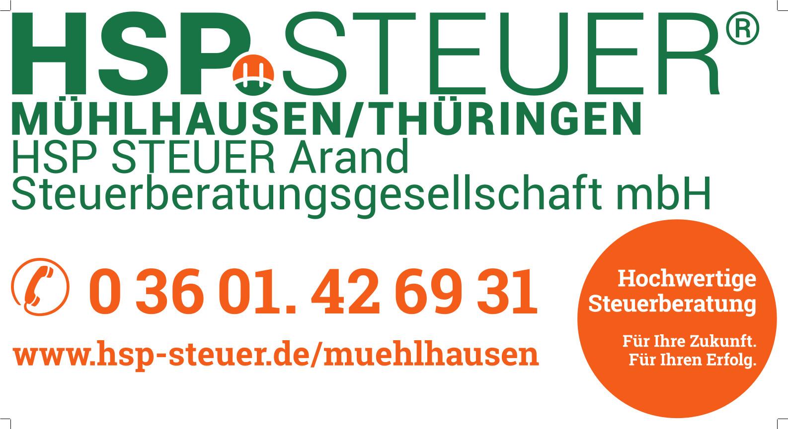 HSP Steuer Arand Steuerberatungsgesellschaft mbH