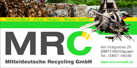 MRC Mitteldeutsche Recycling GmbH